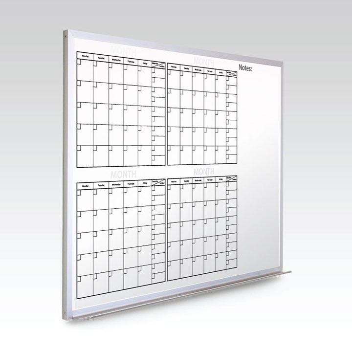 Custom Calendar Whiteboard