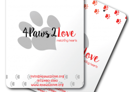 4 Paws 2 Love Patient Info Dry Erase Clipboards
