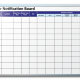 Amway Contractor Notification Dry Erase Board
