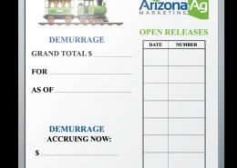 Arizona AG Marketing Goal Tracking Dry Erase Board