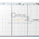 Century 21 West Coast Brokers Listing & Sales Tracker Dry Erase Board