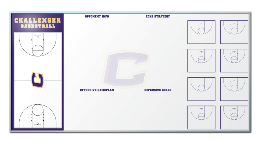 Challenger-Basketballl_basketballBoard Dry erase board