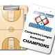 City of Woodward Basketball Coaching Dry Erase Clipboards