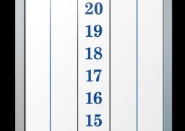 Concorde Construction Cricket Dry Erase Scoreboard