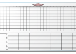 Fremont Motors Sales Tracker Markerboard