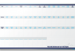 Personal Gym Record Tracking Dry Erase Board