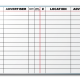 Ralston Outdoor Advertising Job Tracker Dry Erase Board
