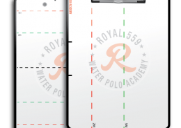 Royal 559 Waterpolo Academy Dry Erase Clipboards