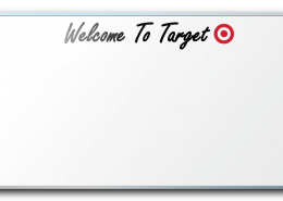 Target Welcome Dry Erase Board